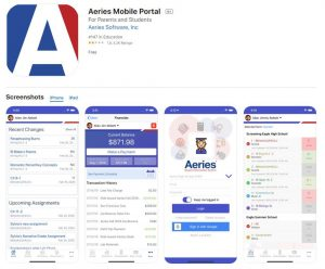 aeries portal app for mobile users