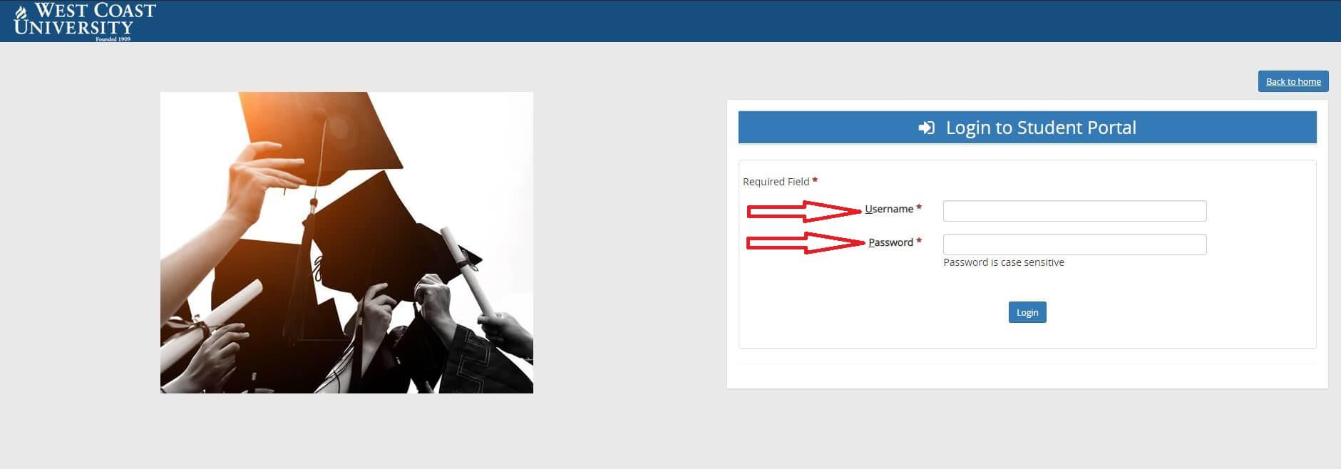 wcu student portal login guide